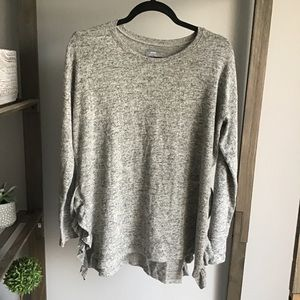 Aerie Just Add Leggings Ruffled Soft Long Sleeve